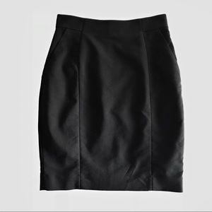 H & M Black Pencil Skirt